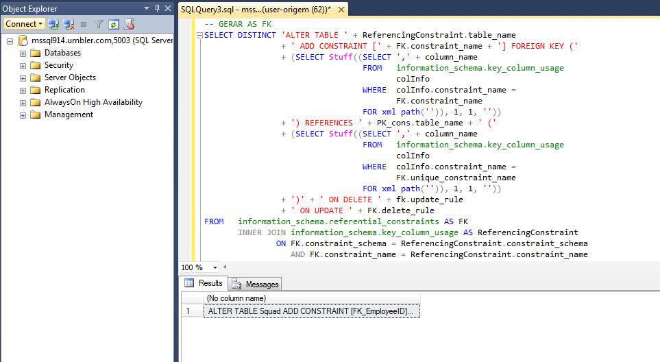 Sql server importando exportando um banco de dados - Porta sql server ...