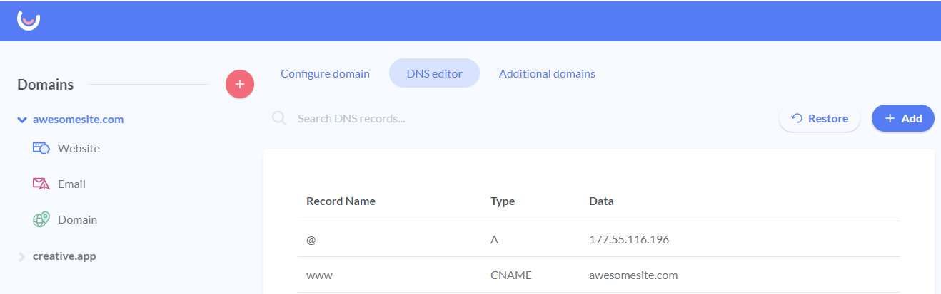 1-DNS-records-website.png